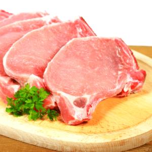 Cotlet de porc cu os